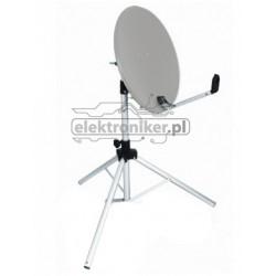 Antena satelitarna ze statywem
