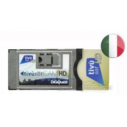 Moduł + karta Tivusat - włoskie kanały
