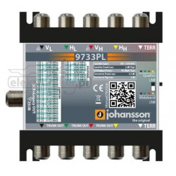 Multiswitch Johansson 9733PL Unicable