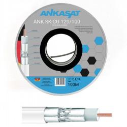Kabel koncentryczny AnkaSat Cu 100m
