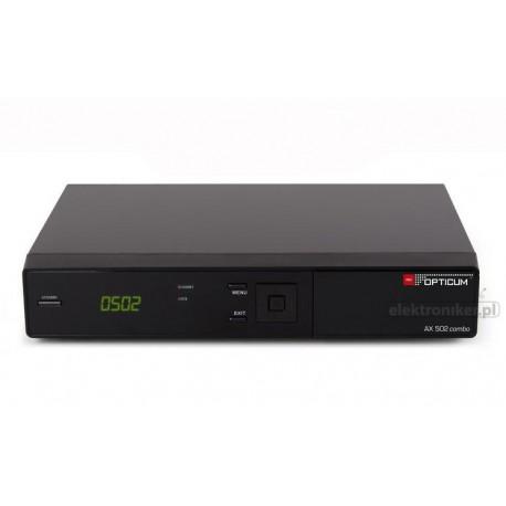 Odbiornik Opticum HD AX 502 Combo