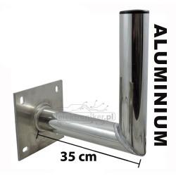 Stojak antenowy aluminiowy ścienny AS Sat 35cm