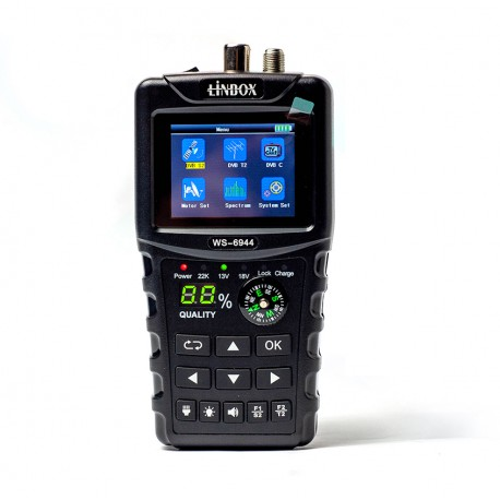 Miernik Linbox WS-6944 DVB-S/S2/T/T2/C2