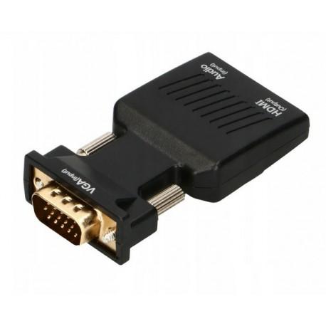 Konwerter VGA D-SUB na HDMI