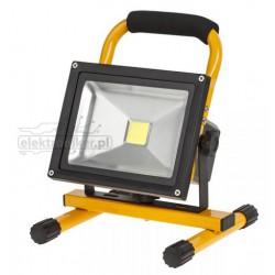 Reflektor przenośny LED 20W z ładowarką