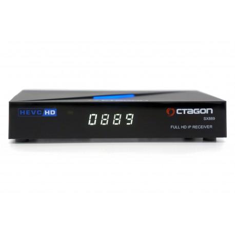 Odbiornik Octagon SX889 HD HEVC IP