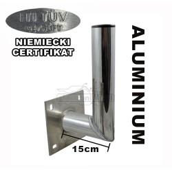 Stojak antenowy aluminiowy ścienny AS Sat 15cm