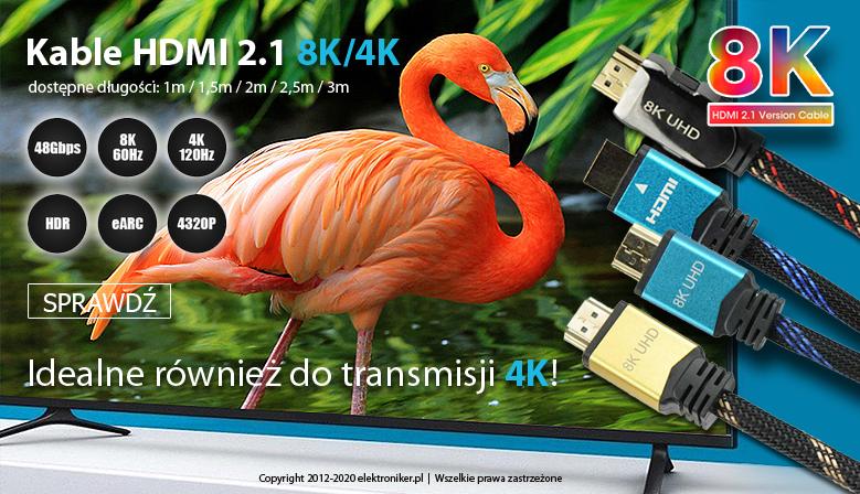Kabel HDMI 2.1 8K/4K