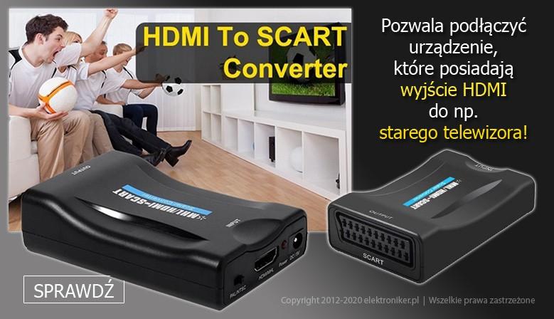 Konwerter HDMI do EURO / SCART