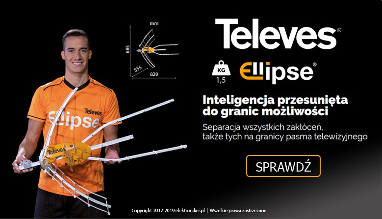 Antena Televes Ellipse UHF