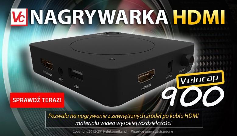 Nagrywarka hdmi Velocap 900 TBOX mini Full HD