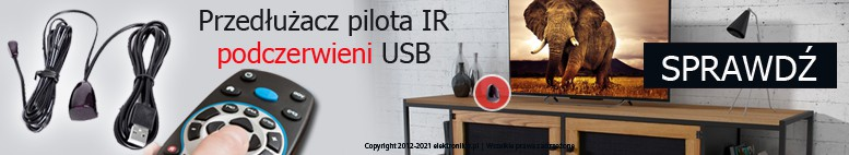 Przedłużacz pilota IR podczerwieni USB 5V
